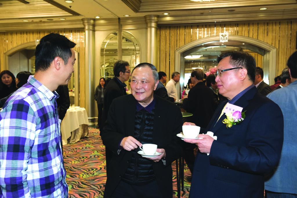 林振寬先生、湯冠華先生及朱浩然先生